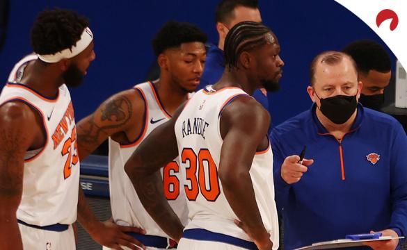 The New York Knicks have covered the first Half spreads in 13 straight games in 2021 NBA season.