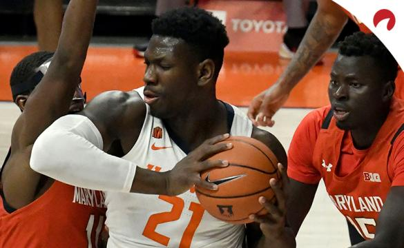 Kofi Cockburn and the Illinois Fighting Illini are sizable underdogs in NCAAB betting odds going up against the Michigan Wolverines on Tuesday night.