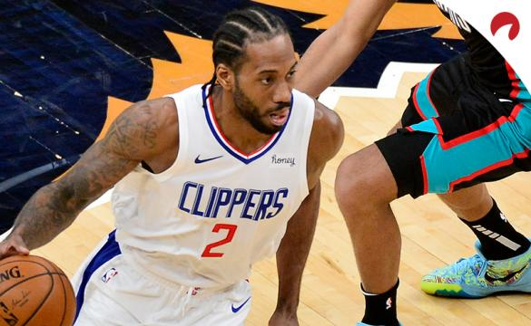 Kawhi Leonard and the LA Clippers are favored on the road over the Washington Wizards.