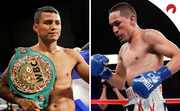Juan Francisco Estrada (right) is favored in the Estrada vs Chocolatito odds