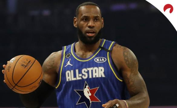 LeBron James and his team are favored for 2021 NBA All-Star game odds.