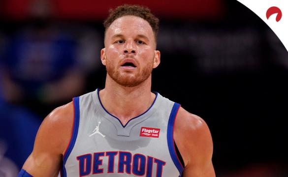 Blake Griffin has great odds to dunk in an NBA game even if he hasn't done it since December 2019.