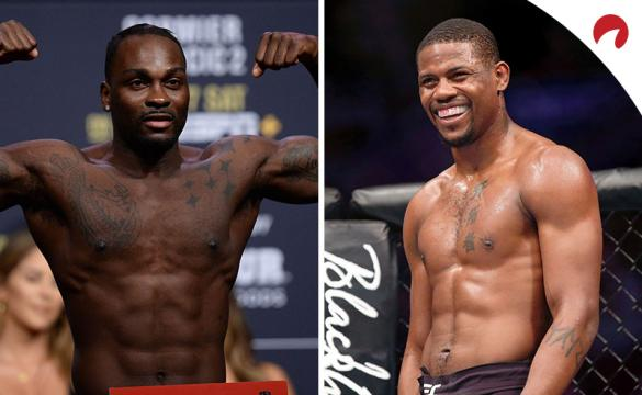 Kevin Holland (right) is favored in the UFC Fight Night: Brunson vs Holland Odds