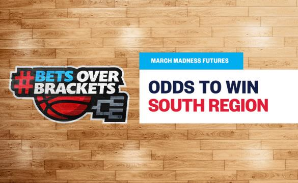 The Baylor Bears are favored for March Madness South region odds.