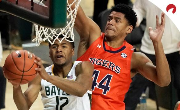 Jared Butler and the Baylor Bears are solid betting favorites in March Madness odds for their second-round matchup against the Wisconsin Badgers on Sunday.