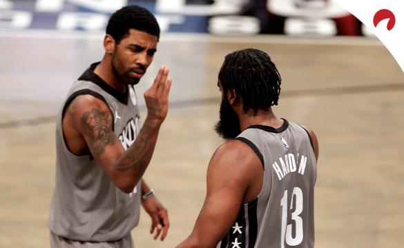 Kyrie Irving and James Harden of the Brooklyn Nets have been great underdog bets for the 2020-21 NBA season.