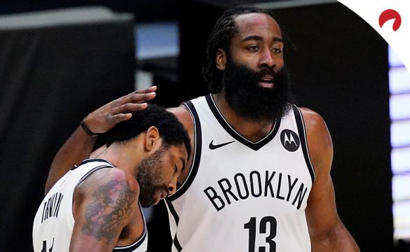 James Harden and Kyrie Irving of the Brooklyn Nets are favorites for 2021 NBA Championship Odds.