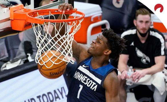 Anthony Edwards of the Minnesota Timberwolves is the favorite for NBA Rookie of the Year.