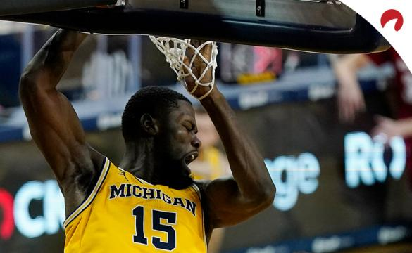Chaundee Brown and the Michigan Wolverines are small betting favorites in March Madness oddsfor their Sweet 16 matchup with the Florida State Seminoles.