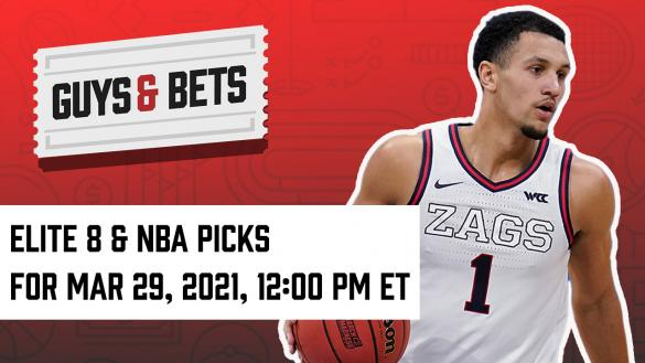Odds Shark Guys & Bets Iain MacMillan Andrew Avery College Basketball March Madness Elite Eight Betting Odds Tips Picks Predictions Wagers Bets Betting
