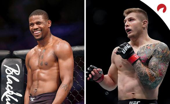 Marvin Vettori (right) is favored in the UFC Fight Night: Holland vs Vettori odds.