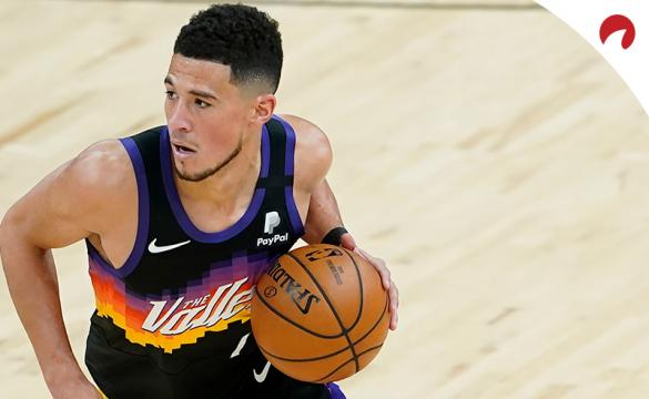 Devin Booker's Suns are underdogs in the Utah vs Phoenix odds.
