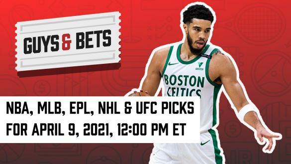 Odds Shark Guys & Bets Joe Osborne Iain MacMilland Andrew Avery NBA MLB NHL UFC Betting Odds Tips Picks Predictions Bets Wagers Jayson Tatum