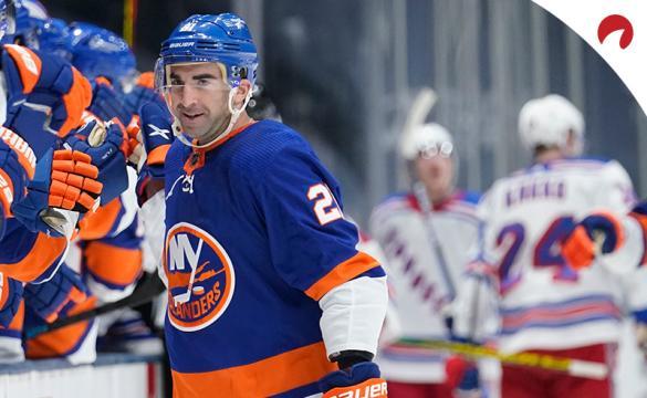 Kyle Palmeri's Islanders are favored in the New York vs Philadelphia odds.