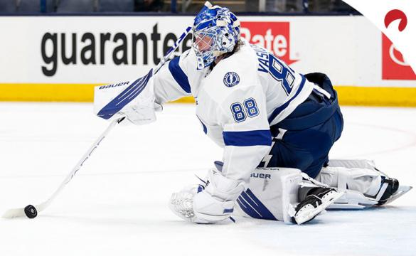 According to the latest 2021 NHL Vezina Trophy Odds, Andrei Vasilevskiy is top-rated goaltender in the NHL.