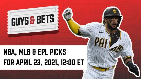 Odds Shark Guys & Bets MLB NBA Premier League Betting Odds Tips Bets Picks Predictions Fernando Tatis