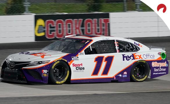 Denny Hamlin is the favorite in the Buschy McBusch Race 400 odds.