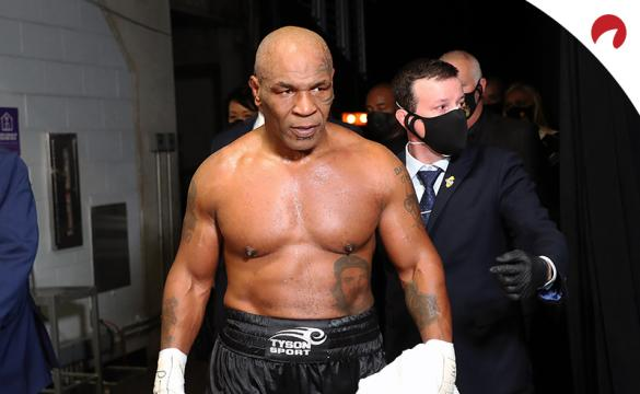 Mike Tyson is favored in the Mike Tyson vs Lennox Lewis Odds