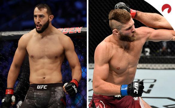 Jiri Prochazka (derecha) es favorito en los pronósticos del UFC Fight Night: Reyes vs. Prochazka.