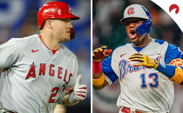 Mike Trout and Ronald Acuna are favorites MLB MVP odds.