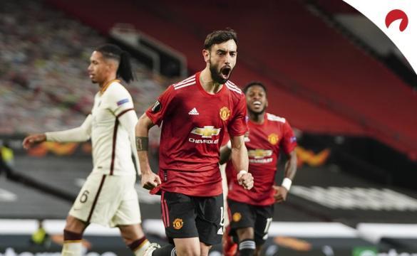 Roma e Manchester se enfrentam na Liga Europa, 2021.