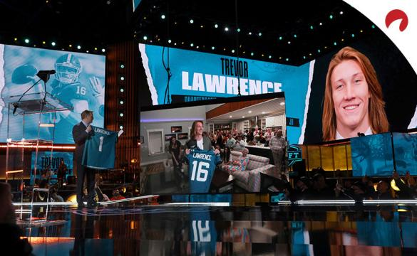 Jacksonville's Trevor Lawrence is the undisputed favorite in NFL Offensive Rookie of the Year Award odds at +300.