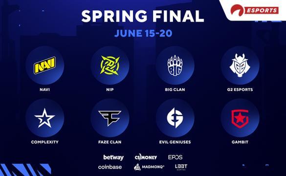 BLAST Spring Final Teams