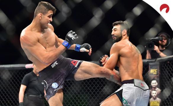 André Sergipano promissor no UFC, 2021.
