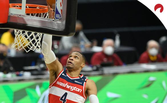 Russell Westbrook's Wizards are favored in the Washington vs Indiana odds.