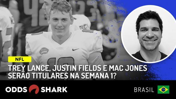 NFL: Lance, Fileds e Jones titulares?