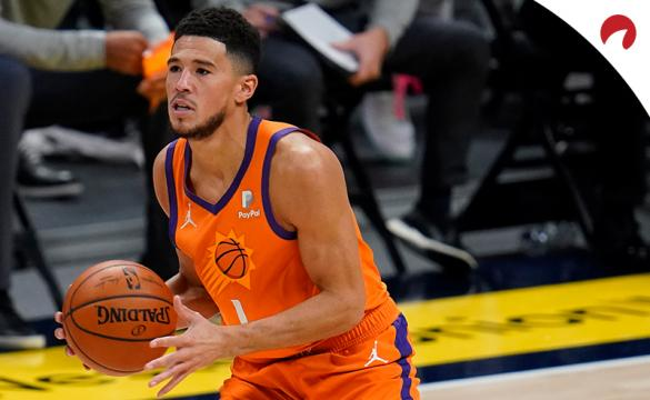 Devin Booker's Suns are favorites in the Phoenix vs Los Angeles odds - May 9.