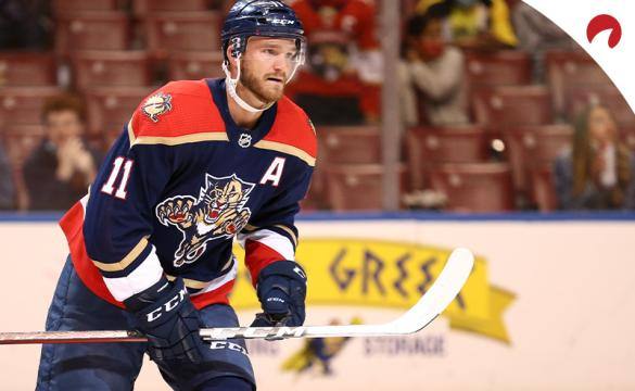 Jonathan Huberdeau and the Florida Panthers are favored in NHL betting odds as they take on the Tampa Bay Lightning on Monday night.