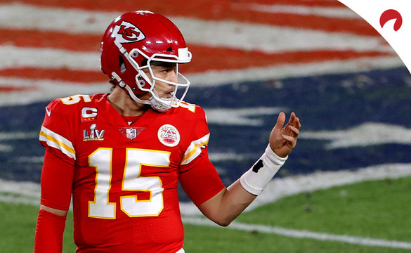 Patrick Mahomes and the Kansas City Chiefs have the highest projected OVER/UNDER win total odds for the 2021 NFL season.