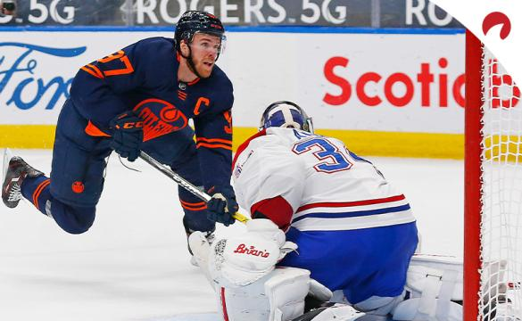 Connor McDavid and the Edmonton Oilers are small moneyline favorites over the Montreal Canadiens in NHL betting odds Wednesday evening.