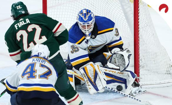 The Minnesota Wild and St. Louis Blues have even odds for their final regular-season game Thursday night.