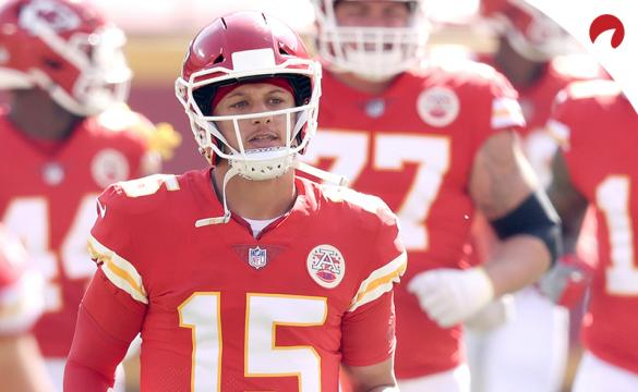 Patrick Mahomes and the Kansas City Chiefs have the highest projected win total for the 2021 NFL season.