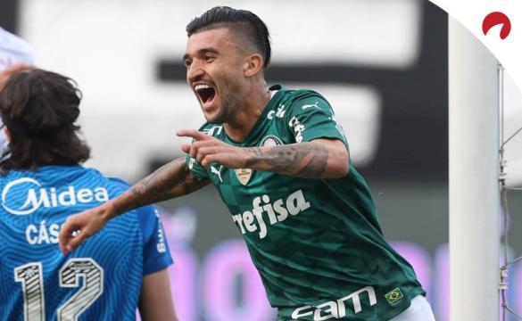 Palmeiras avança na Libertadores 2021.
