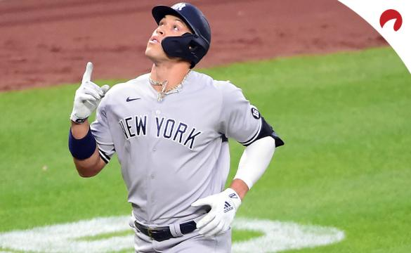 Aaron Judge and the New York Yankees are big road favorites for their game Wednesday night vs the Texas Rangers.