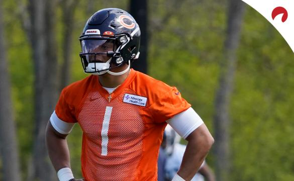 Justin Fields could be the Week 1 starter for the Chicago Bears according to the latest betting odds.
