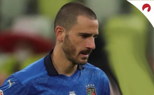 Benucci pela Itália no grupo A da Eurocopa 2021.