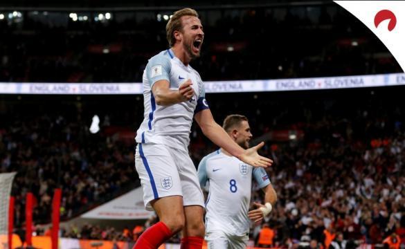 Inglaterra é a favorita máxima do grupo D.