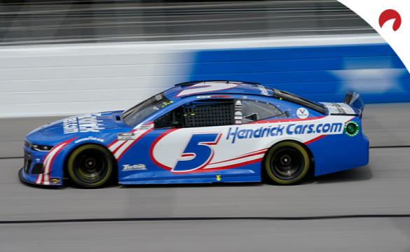Kyle Larson is one of the favorites in the Coca-Cola 600 odds at Charlotte Motor Speedway.
