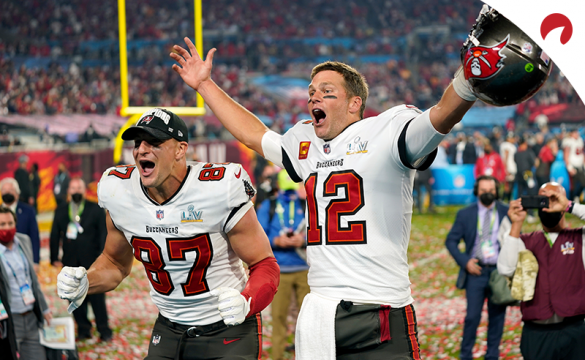 The Tampa Bay Buccaneers are currently listed second in Super Bowl odds.