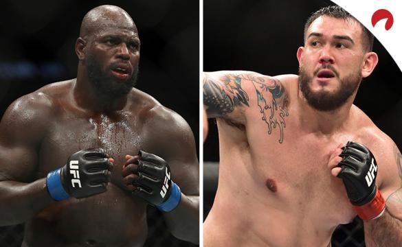Rozenstruik (izquierda) es favorito en los pronósticos y cuotas del UFC Fight Night: Rozenstruik vs Saki.