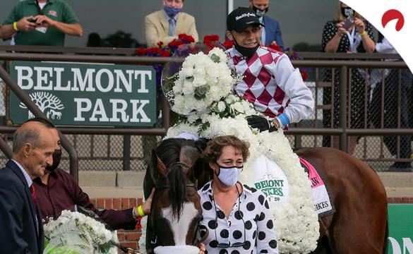 Lots of betting props are available for the 153rd Belmont Stakes horse race.