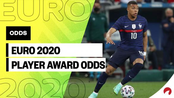 Check out the individual Euro 2020 Player Award odds.