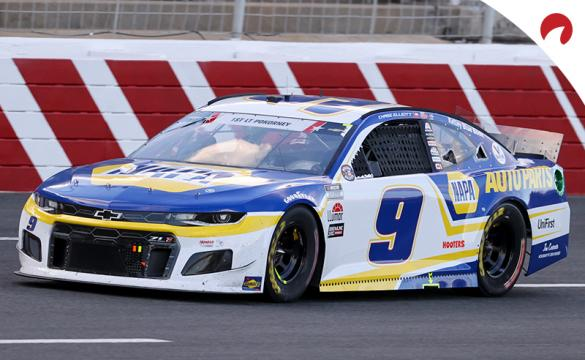 Chase Elliott is the favorite in the Toyota Save Mart 350 odds at Sonoma Raceway.