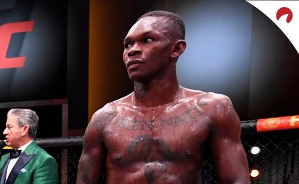 Adesanya no UFC 263.