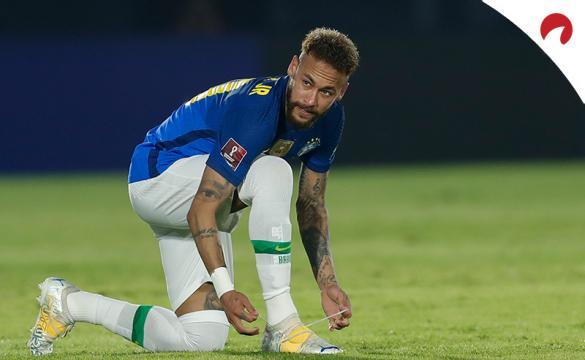 Neymar Jr. se ata las botas en un partido de Brasil. Conoce los pronósticos del Brasil vs Venezuela