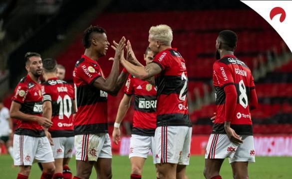 Flamengo na 3ª rodada da Copa do Brasil 2021.
